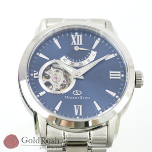 Orient ORIENT Watch Ref: WZ0081DA Self-winding Blue Dial Three-needle Men's