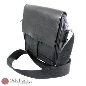 Paul Smith PaulSmith Black canvas × leather shoulder bag