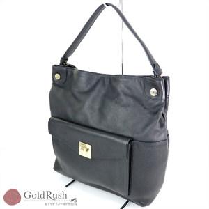 Furla FURLA Black Leather One Shoulder Bag Women