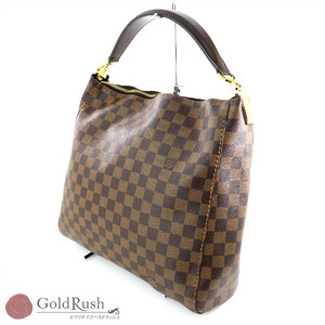 LOUIS VUITTON Damier Canvas Portobello PM Handbag N41184 Women