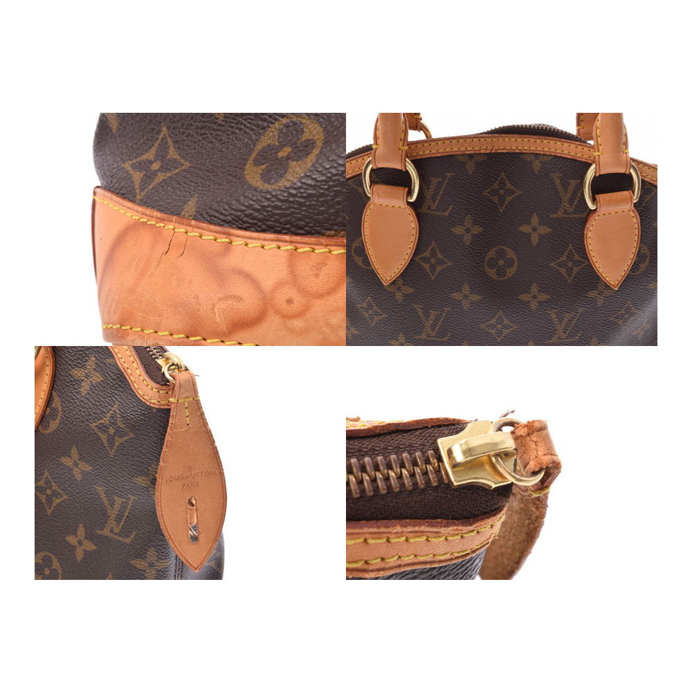 ルイ・ヴィトン (Louis Vuitton) ルイヴィトン モノグラム ロックイット ブラウン M40102 レディース 本革 ハンドバッグ Bランク LOUIS VUITTON 中古 銀蔵