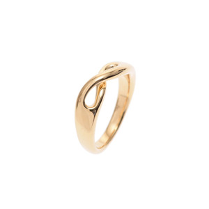 Tiffany Infinity Ring # 10 Ladies YG 5.5g A Rank Beauty Product TIFFANY & CO Box Used Ginzo