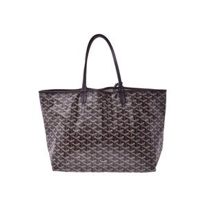 Goyard San Luis PM Black / Ladies Men's PVC Tote Bag New Domomi Product GOYARD With Pouch Used Ginzo