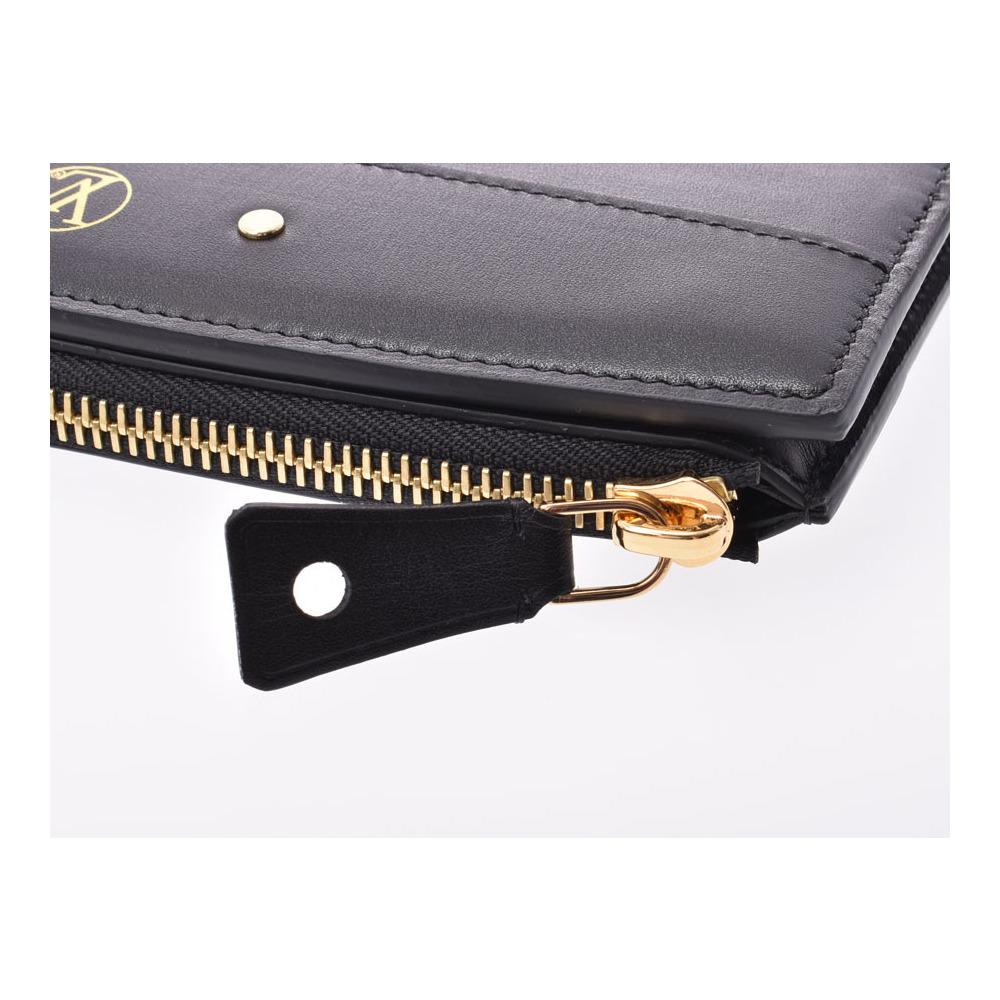 ルイ・ヴィトン (Louis Vuitton) ルイヴィトン ポルトフォイユスティーマー 黒 G金具 メンズ レディース カーフ 長財布 セール品 Aランク 美品 LOUIS VUITTON 中古 銀蔵