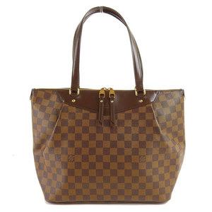 Genuine LOUIS VUITTON Louis Vuitton Damier Westminster GM Tote Bag Leather