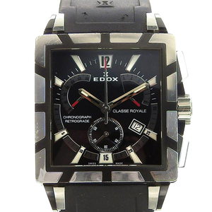 EDOX Class Royal Chronograph Men's Quartz Watch, Model No .: 1504