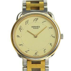 Genuine HERMES Hermes Arso Men's Quartz Watch