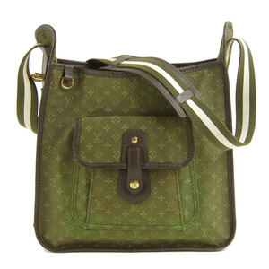Genuine LOUIS VUITTON Louis Vuitton Monogram Mini Busass Marie Kate Shoulder Bag Khaki Model: M92322 Leather