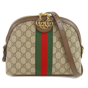 Genuine Gucci Shelly PVC Ophidia GG Shoulder Bag Model No .: 499621 Leather