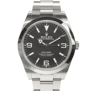 Genuine ROLEX Rolex Explorer 1 Mens Automatic Wrist Watch Model: 214270 Random