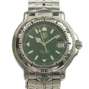 Genuine TAG HEUER Tag Heuer 6000 Series Men's Quartz Watch Model: WH1117