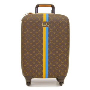 Genuine LOUIS VUITTON Louis Vuitton Monogram Zephyr Carry Bag Trolley Model: BA2184 Leather