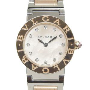 Bvlgari Bvlgari Bvlgari Quartz Pink Gold (18K),Stainless Steel Women's Watch BBLP26SG