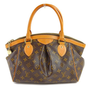 Genuine LOUIS VUITTON Louis Vuitton Monogram Tivoli Handbag Bag Leather