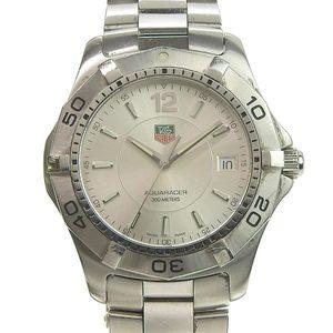 Genuine TAG HEUER Tag Heuer Aqua Racer Mens Automatic Watch Model: WAF1112