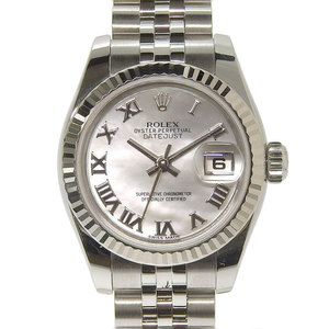 Genuine ROLEX Rolex Datejust Ladies Automatic Watch Shell Dial Model: 179174 NR Random