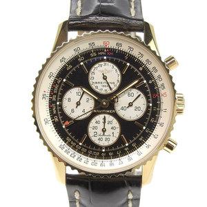 Genuine BREITLING Breitling K18 YG Navitimer Cathle Men's Automatic Watch Japan Limited 100 pcs K33340