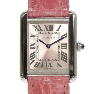 Authentic CARTIER Cartier Tank Solo SM Ladies Quartz Wrist Watch Model: CRW 5200000
