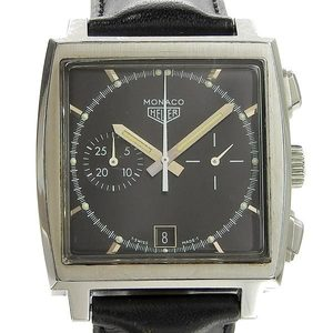 Genuine TAG Heuer Tag Limited Monaco Men's Automatic Watch Black Dial Model: CS2110