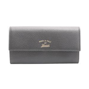 グッチ(Gucci) スウィング 長財布 レディース  カーフスキン 財布 ブラック