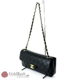 deba71b2355f Chanel CHANER Matrasse Caviar Skin Shoulder Bag Chain Women