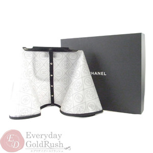 CHANEL Camellia bag cape raincoat A57448 rain cover