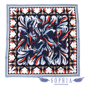 Fendi scarf blue x black multicolor 20190517