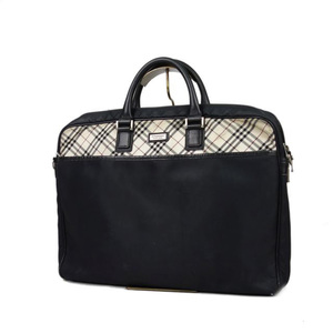Burberry Black Label BURBERRY BLACK LABEL Check Briefcase Business Bag Men's ナ イ ロ ン Nylon Leather