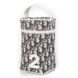 Christian Dior Christian Trotter Handbag Pouch Ladies Number White Black Bag Vintage Spanish