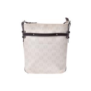 Loewe Shoulder bag White / Brown Ladies PVC B rank LOEWE used Ginzo