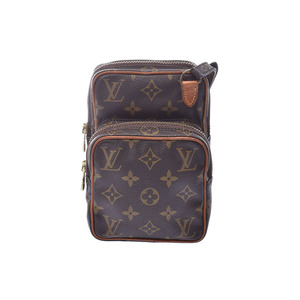 ルイ・ヴィトン (Louis Vuitton) ルイヴィトン モノグラム ミニアマゾン ブラウン M45238 レディース 本革 ショルダーバッグ Bランク LOUIS VUITTON 中古 銀蔵