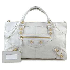 Balenciaga BALENCIAGA Giant work handbag white 173080