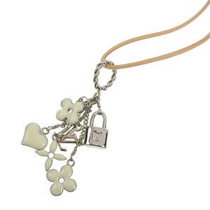 Louis Vuitton LOUIS VUITTON Pandantif Sweet Monogram Necklace M65485