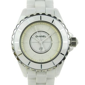 CHANEL CHANEL J12 White Phantom 10th Anniversary Model 2000 Limited Quartz Watch H3442