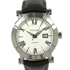 Tiffany TIFFANY & Co. Atlas Gents Mens Automatic Watch Z1000