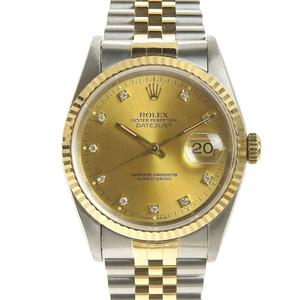 Rolex ROLEX Datejust Mens Automatic Watch 16233G