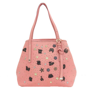 Jimmy Choo JIMMY CHOO Sasha Constellation Tote Bag Leather Pink