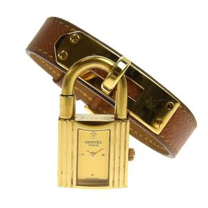 Genuine HERMES Hermes Kelly Watch Ladies Quartz