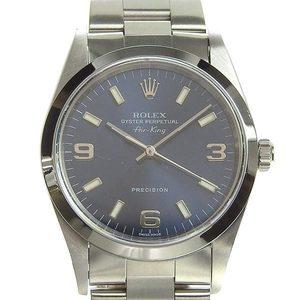 Genuine ROLEX Rolex Air King Men's Automatic Watch, model number: 14000M K series
