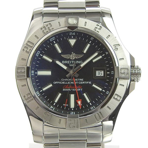 Genuine BREITLING Breitling Avenger 2 GMT Mens Automatic Watch Model: A32390
