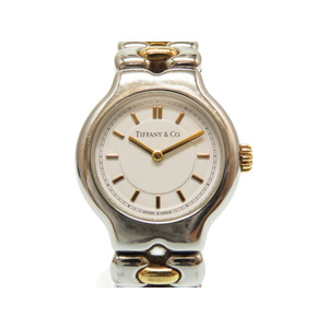 Tiffany Tisolo Quartz watch K18YG silver / gold combination 0146 TIFFANY & Co. Women