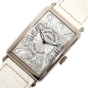 FRANCK MULLER Long Island Crazy Hours 1200CH Automatic WG Solid Men's Watch