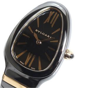 Bulgari BVLGARI Serpenti Spiga SPC35BCBC.1T PG Ceramic Quartz Bangle Watch