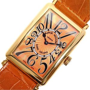FRANCK MULLER Long Island 1000 SC Automatic Gold Reckless Orange Men's Watch