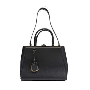 Fendi FENDI Toujour 8BH250 calfskin black handbag ladies