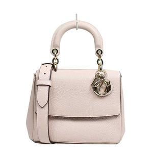 Dior Bidior Mini M0988OTRL Leather Light Pink Handbag