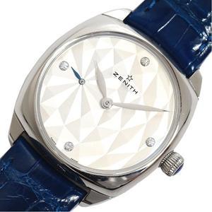 Zenith ZENITH Star 33MM 03.1971.681 80.C754 Automatic 4P Diamond Ladies Leather Belt Watch