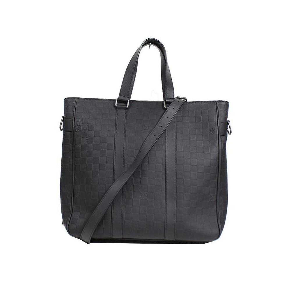c2045ddc73 Louis Vuitton Damier Anfini Tadao PM N41227 Onyx Business Bag Men's ...