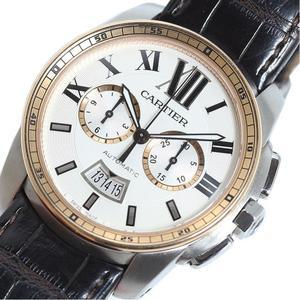 Cartier Calibur de Chronograph W7100043 PG SS Automatic winding men's watch