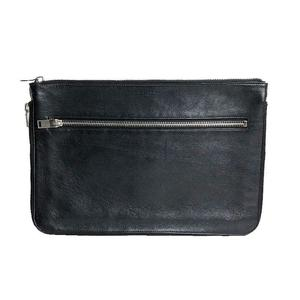 Saint Laurent SAINT LAURENT Clutch Bag Leather Black Men